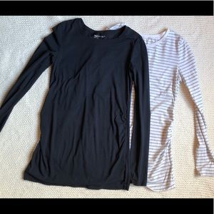 Two Gap Maternity Tops
